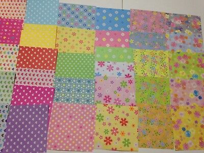 10sheets Origami paper Various pattern Folding lucky wish Crane craft paper