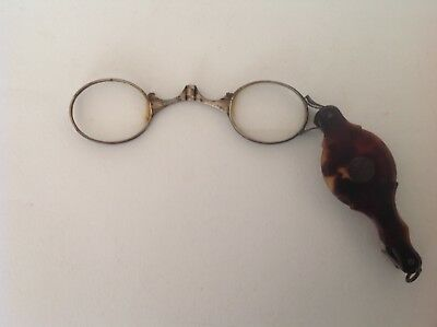 Antique - Vintage folding Lorgnette Spectacles