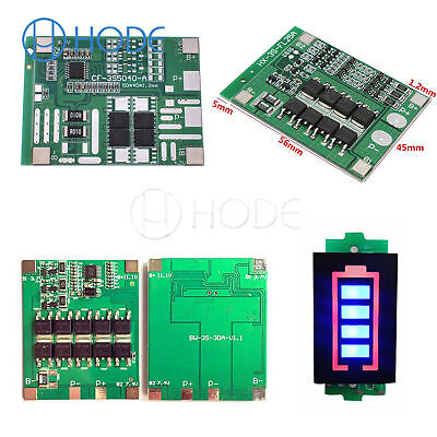 3S 12/25/30A 12V lithium ion 18650 Battery Charger PCB Protection Board UK