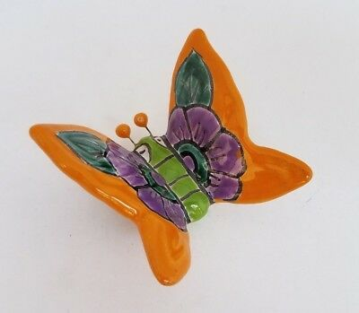 *Beautiful* Mexican Talavera Pottery BUTTERFLY