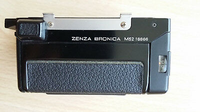 Zenza Bronica ETR 220 Film Back mit dark slide
