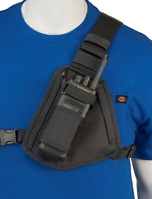 Motorola Radio Chest Harness Black