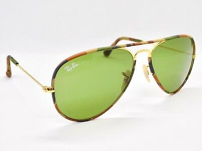 Ray Ban Aviator Full Colour Camouflage RB3025-JM 58mm & Case