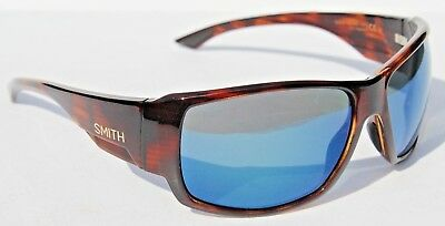 8122467d3a924 SMITH OPTICS Dockside POLARIZED Sunglasses Havana Blue Mirror ChromaPop NEW