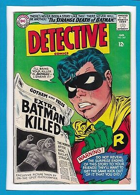 Detective Comics #347_January 1966_Very Fine_Batman_Robin The Boy Wonder!