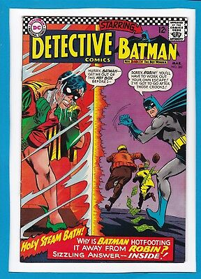 Detective Comics #361_March 1967_Very Fine+_Batman_Robin_Silver Age Dc!