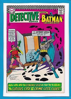 Detective Comics #364_June 1967_Fine_Batman_The Riddler_Robin_Silver Age Dc!