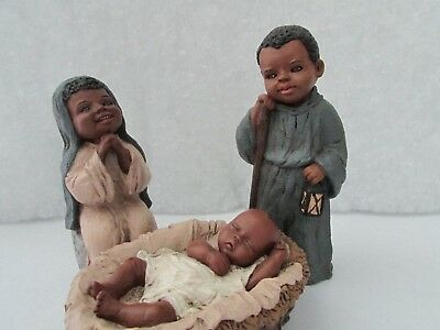 """Miss Martha Originals This group is Mary, Joseph and the baby """"Preshus"""""""