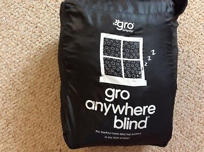 The gro company-  Gro anywhere travel blackout blind. Excellent Used condition