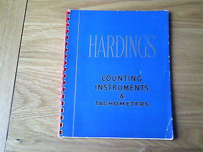 Hardings Counting Instruments & Tachometers Catalogue