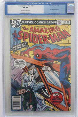 Amazing Spider-Man #189 - CGC Graded 9.4 - Off-White to White Pages
