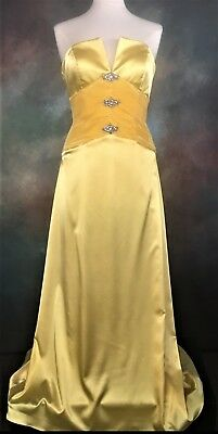 46b9d64da1 Tony Bowls 19727 satin prom dress Size 8 Pageant Evening Formal Cocktail  Party