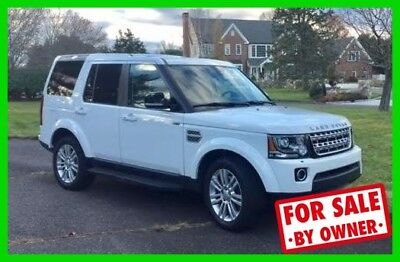 Land Rover LR4 LR4 HSE LUX 2016 Land Rover 3L V6 Automatic 4WD SUV LOW MILES Warranty Backup Camera