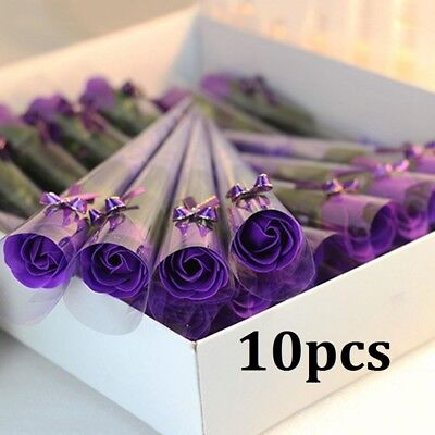 Artificial Flower Soap Rose Simulation Balmy Gift Valentine'S Day Colorful