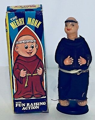Vintage The Merry Monk Adult Novelty Gag Gift Naughty Nude Risque
