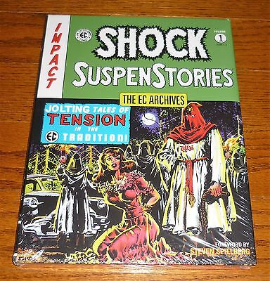 EC Archives Shock Suspenstories Volume 1, SEALED, Dark Horse Comics, Wally Wood