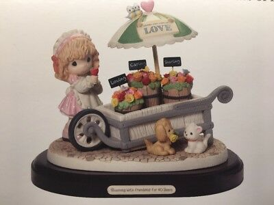 Precious Moments BLOOMING WITH FRIENDSHIP FOR 40 Years LIMITED EDITION Figurine