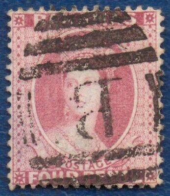 BAHAMAS 1882 4d Good Used Classic Stamp.