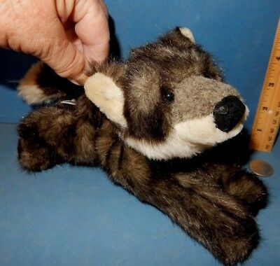 "RUSS BERRIE   CUTE   WOLF  named HOWLIE DOG  PLUSH TOY 10"" long"