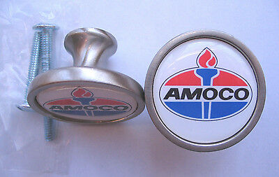Amoco Gas Cabinet Knobs, Amoco Gasoline Logo Cabinet Knobs , Amoco  Gas Knobs