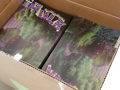 Lot of 10: THE IMMORTAL HULK #1 Alex Ross Regular Cover Marvel NM READY TO SHIP!