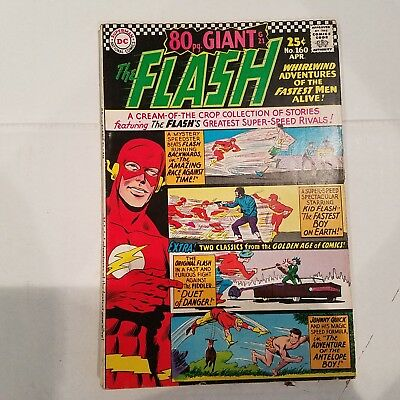 Flash 160 Fine+  HUGE DC SILVER AGE COLLECTION No Reserve