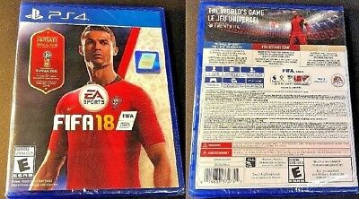 PS4 FIFA 18 World Cup Russia 2018 Edition with Updated Content BRAND NEW SEALED