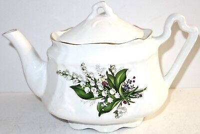 VINTAGE Ceramic ARTHUR WOOD & SON Staffordshire TEAPOT~MADE in ENGLAND~LOT #3!