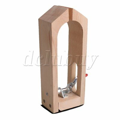 Latch Mechanism Stitching Horse for Leathercraft Hand-stitch Work