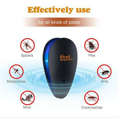 Ultrasonic Pest Repeller Electronic Repellent Rat Mosquito Insect Pest Control