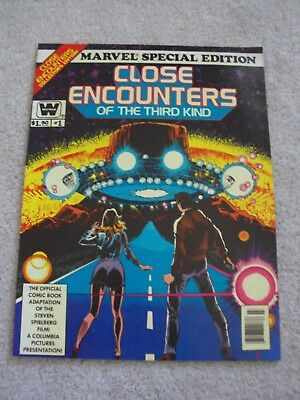 Marvel Special Edition Close Encounters Of The Third Kind #1 1978 Whitman