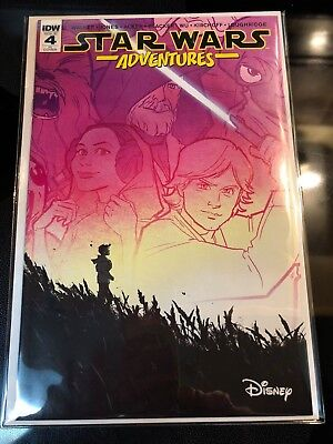 Star Wars Adventures #4 Annie Wu Variant