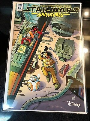 Star Wars Adventures #6 Chad Thomas Variant