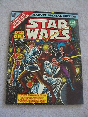Star Wars Marvel Special Edition Comic Book #3 1978