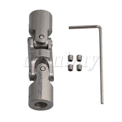 6mm-6mmm Three-section Universal Joints Shaft Connector Coupler 12mm OD