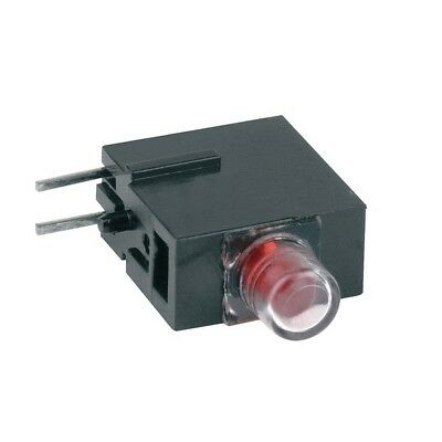 1x 1808.2035 Diode LED in housing 3mm THT red 60° diffused red MENTOR