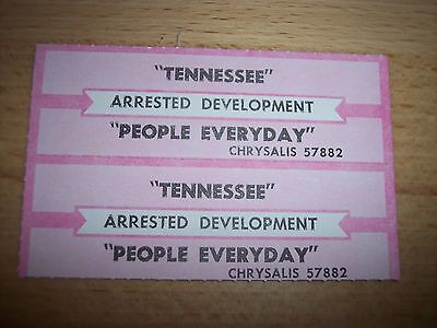 """2 Arrested Development Tennessee Jukebox Title Strip CD 7"""" 45RPM Records"""
