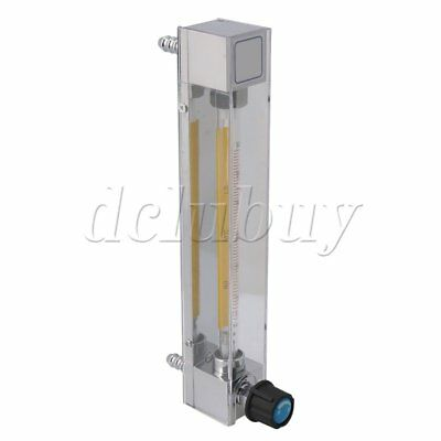 LZB-6 Acrylic Flow Meter 6-60L/H Liquid Instantaneous Flow Measure Tool