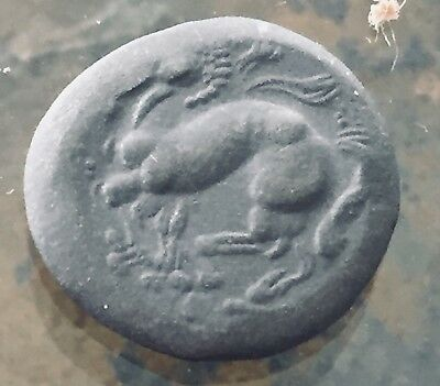 Ancient Greek Roman BC Coin Bronze Celtic Era Crazy-Horse and Bearded Crazy Guy