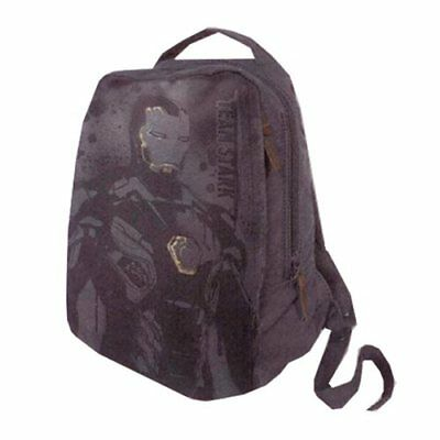 Marvel Comics Civil War Legend Iron Man Canvas Backpack