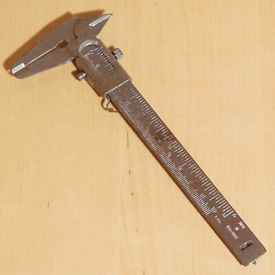 Alter Messschieber / Kaliber / Schieblehre / Caliper Made in W.Germany / antik