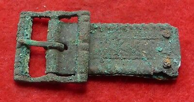 Super Medieval Buckle and Plate