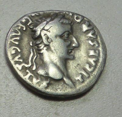 Super Denarius of Tiberius
