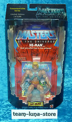 Masters of the Universe Motu Commemorative He Man Figur neu+ovp / He Man Mattel