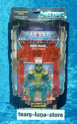 Masters of the Universe Motu Commemorative Mer Man neu+ovp / He Man moc Mattel