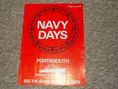 Portsmouth Navy Days (Various Years 1970's)