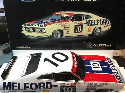 Jim Richard,1977 Bathurst Falcon Xb Gt,as New Never Displayed,1/18 Scale,biante.
