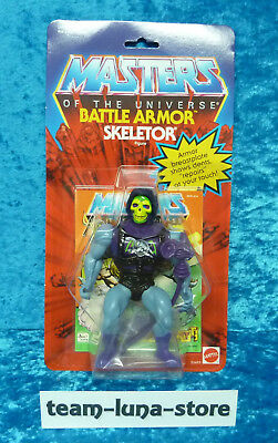 Masters of the Universe Motu Commemorative Figur Battle Armor Skeletor / He Man