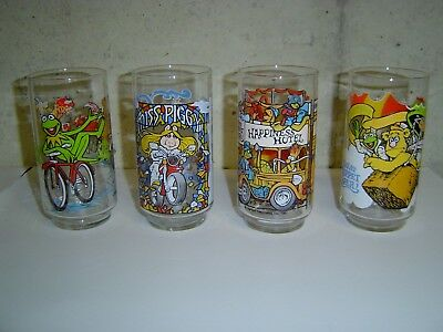 McDonald's The Great Muppet Caper! Promo Glasses set of 4