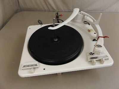 Garrard 210 Stereo Record Player Turntable Changer WORKS!